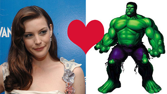 Liv Tyler's Hulking Love
