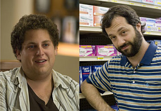 Judd Apatow and Jonah Hill Have an Imaginary Friend