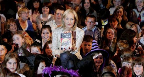 J.K. Rowling Answers Questions About Deathly Hallows