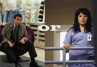 "Which Will You Watch First: ""The Office"" or ""Grey's""?"