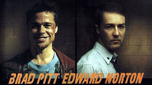 Brad Pitt and Edward Norton Together Again!