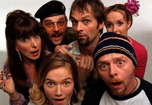 Spaced Coming to DVD, American Version Plows On Without Pegg's Involvement