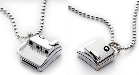 Totally Geeky or Geek Chic? Polaroid Charm