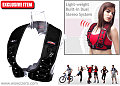 Hands-Free Ears-Free Soundwalk MP3 Player Vest