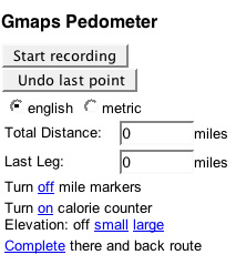Website Of The Day: Gmaps-Pedometer.com