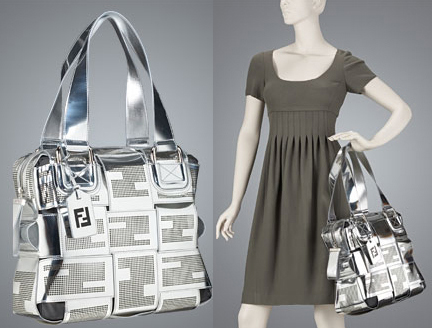 Totally Geeky or Geek Chic? Fendi Crossword Bag