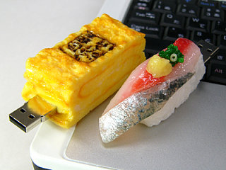 Scrumptious Sushi USB Drives - Part Deux