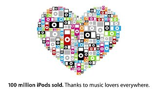 Apple Has Sold 100 Million iPods - Lance Says His Keeps Him Motivated