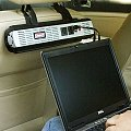 The Headrest Power Inverter Helps You Work On The Go