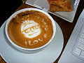 Steve Jobs&#039; Face Appears In Latte?
