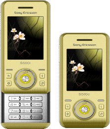 Sony Ericsson Slider Phone Offers Changing Colors