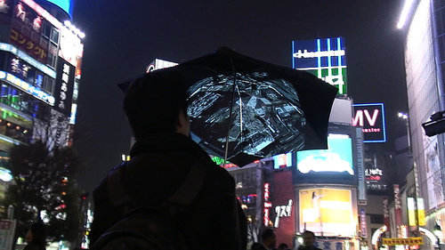 Techie Umbrella: Internet, Photos And GPS