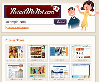 Website of the Day: Retail Me Not