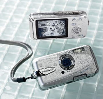 Get Wet And Wild With The Pentax Waterproof Cam