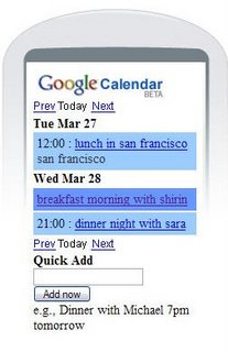 Geek Tip: Put Google Calendar On Your Cell Phone