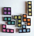 Totally Geeky or Geek Chic? Tetris Magnets