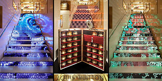 Louis Vuitton Store In Rome Gets Geek Chic Makeover