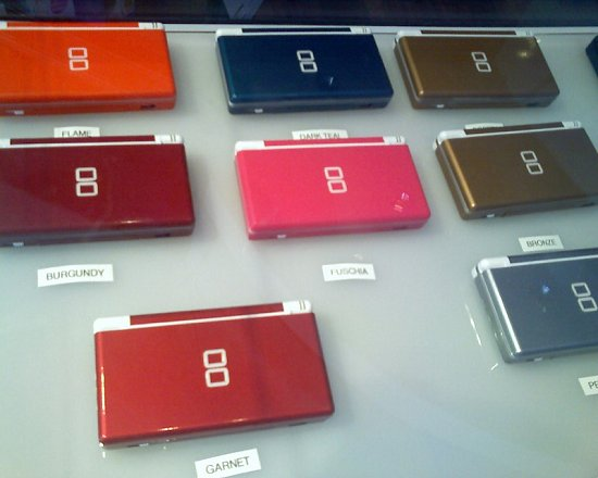 Love It or Leave It? New DS Lite Colors