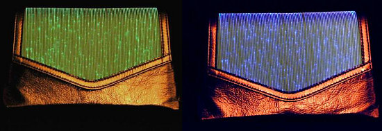 Love It or Leave It? Fiber Optic Clutch Bag