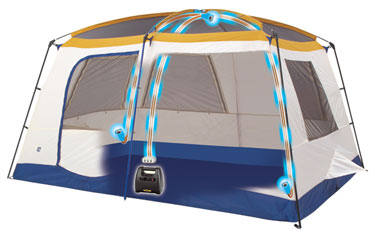 The Gadget Friendly Eureka N!ergy Tent