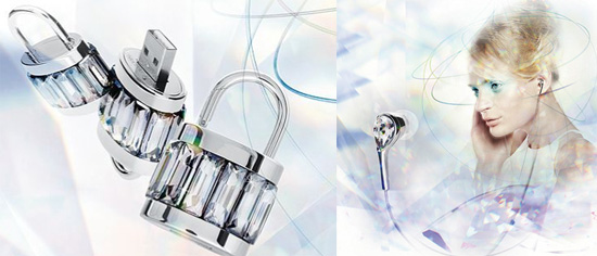 Philips And Swarovski Launch Active Crystal Devices
