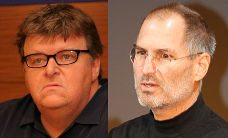 Michael Moore Won't Be First In Line For The iPhone