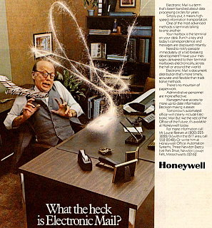 Vintage Geek: What The Heck Is Electronic Mail?