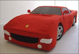 Tech News Roundup - Knitted Ferrari = Seriously Geeky