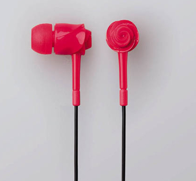 EarDrops Rose Earphones
