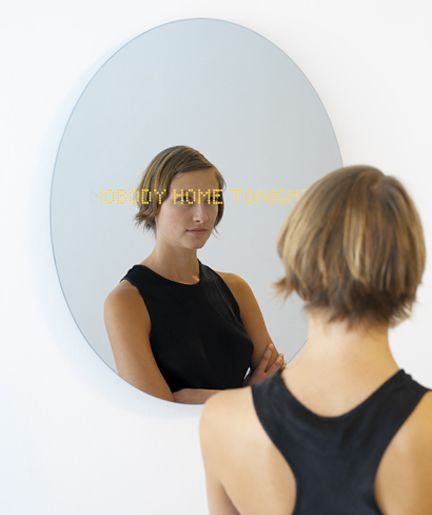 Love It or Leave It? SMS Reading Mirror