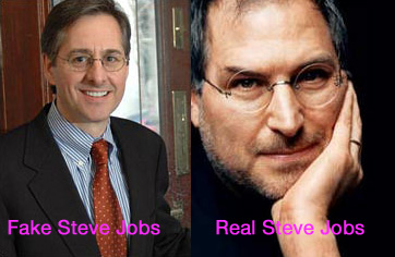 Fake Steve Jobs Blogger Revealed, Not Sexy Clive Owen Lookalike
