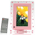 Pink Hearts Digital Photo Frame