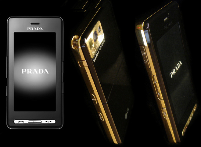 Gold LG Prada Phone, That's Right Gold Baby