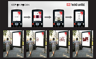 Tech News Roundup - Interactive Graffiti Billboard
