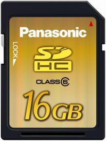 Panasonic Unveils Extra Large 16GB SD Memory Card