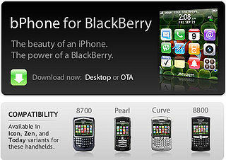 Geek Tip: Pimp Your BlackBerry To Look Like An iPhone