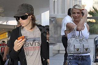 Jessica Biel and Cameron Diaz use same cell phone case