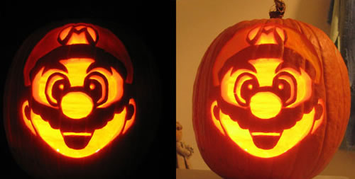 Geeky Carved Pumpkins
