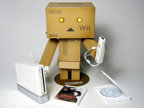 Daily Tech: Cardboard Wii Box Robot Gives Us a Perma-Smile