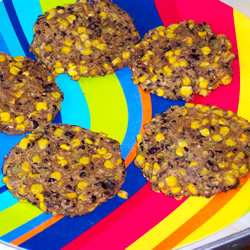 Monday's Leftovers: Black Bean Veggie Burgers