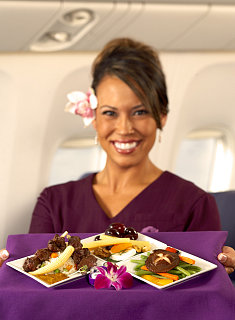 "Hawaiian Airlines to Offer a ""Tasting Menu"""