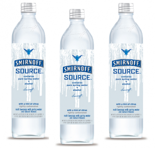 Pure Spring Water + Alcohol = Awesome?