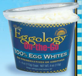 Egg Whites Anytime, Anywhere