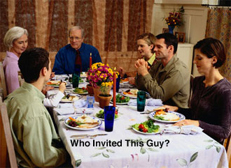 Thanksgiving Tip: Deal With Unexpected Guests — Part 2
