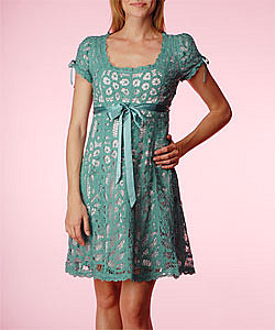 Battenburg Babydoll Dress - Betsey Johnson Official Store