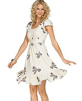 Betsey Johnson Mosaic-Bow Dress
