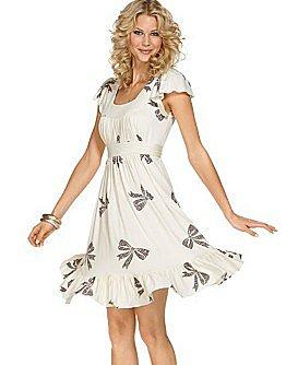 Betsey Johnson Mosaic-Bow Dress