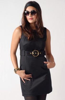 Milly Belted Shift Dress