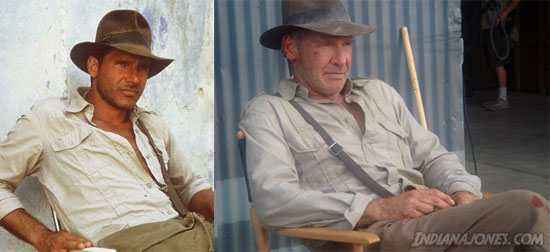 First Look: New Indiana Jones Vs. Classic Indiana Jones