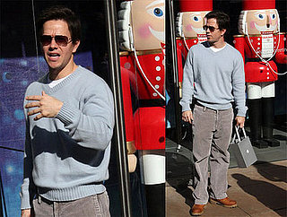 Marky Mark Gets In His Final iShopping